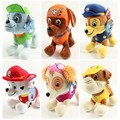 6pcs/lot 20cm/12cm Canine Patrol Dog Toys Russian Anime Doll  Patrol Puppy Toy Patrulla Canina Juguetes Gift for Child