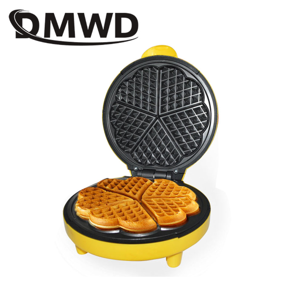 Electrical mini Egg cake oven QQ Egg Waffle Maker grill small egg waffle machine crept breakfast crepe baking machine EU US plug цены