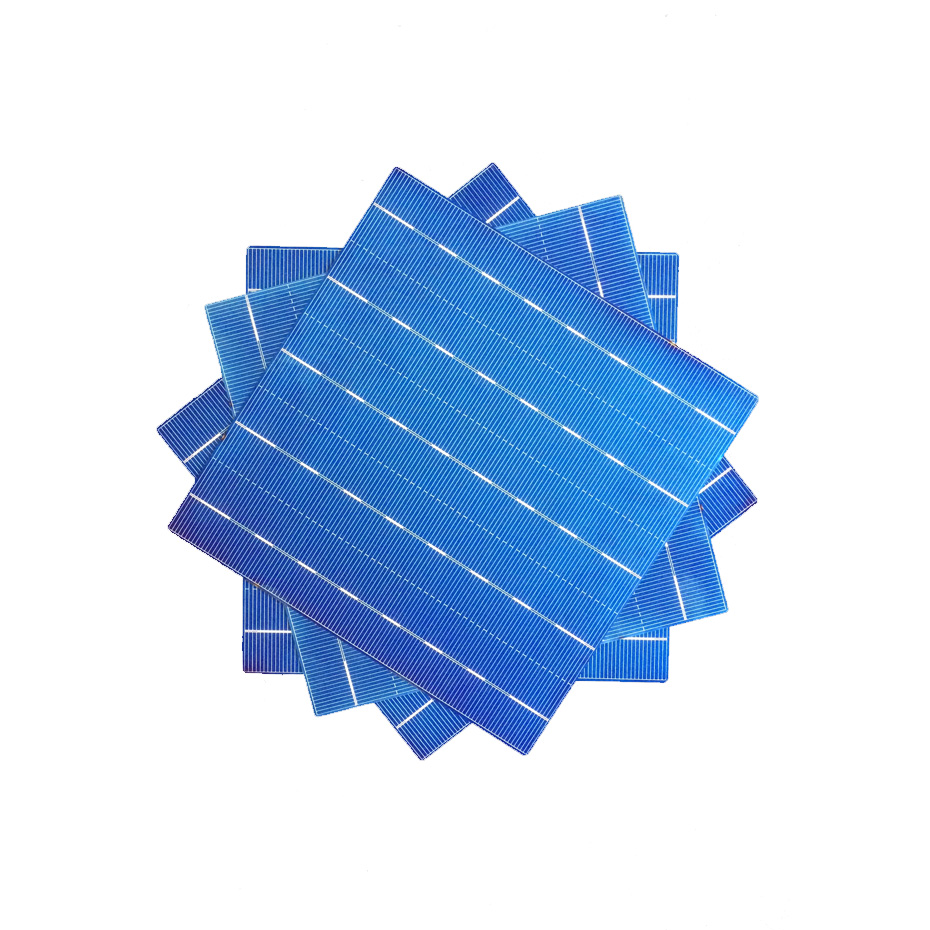 Image 2 - 20Pcs 5BB Photovoltaic Polycrystalline Solar Cells 4.5W 156.75*156.75MM 6x6 DIY Solar panel/Battery Charger For electronics-in Solar Cells from Consumer Electronics