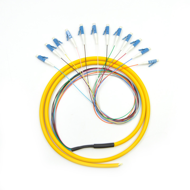 Image 2 - 12 Strand 9/125 Fiber Optic Pigtail 3m LC/UPC Single Mode-in Fiber Optic Equipments from Cellphones & Telecommunications