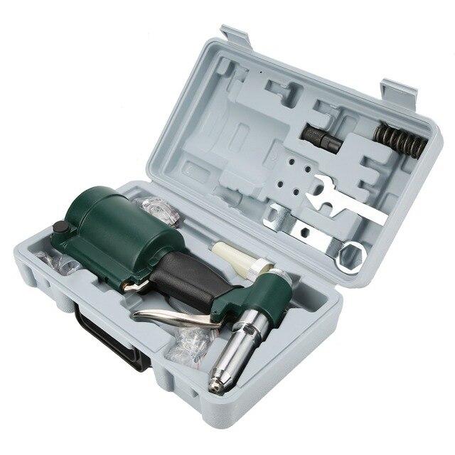 2.4-4.8mm industriel résistant Air riveteuse automatique hydraulique tirer Rivet pistolet pneumatique riveteuse ensemble clou rivetage outil