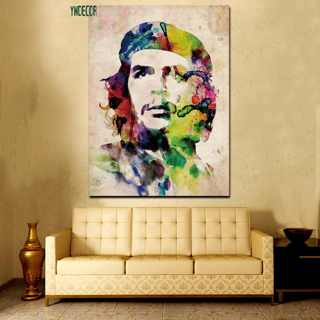 HD Print Watercolor Elvis Presley Che Guevara Freedom Wall Art ...