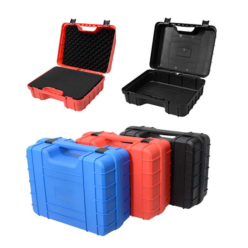 Safety Instrument Tool Box ABS Plastic Toolbox Tool Case Impact Resistant Safety Case Suitcase Toolbox Equipment Camera Case