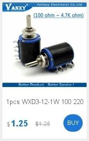 10 шт. 3296W 3296 50 100 200 500 Ом 1 K, 2K 5K 10K 20K 50K 100K 200K 500K 1 м ом 103 100R 200R 500R Подстроечный резистор подстроечный потенциометр