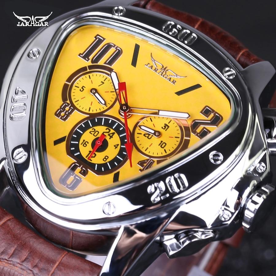 luxury brand leather band automatic mechanical calendar