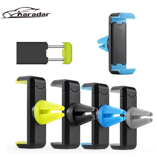Car Holder 360 Degree Ratotable Soporte Movil Mobile Car Phone Stand Car Phone Holder for Iphone 6 Sumsung Air Vent Mount
