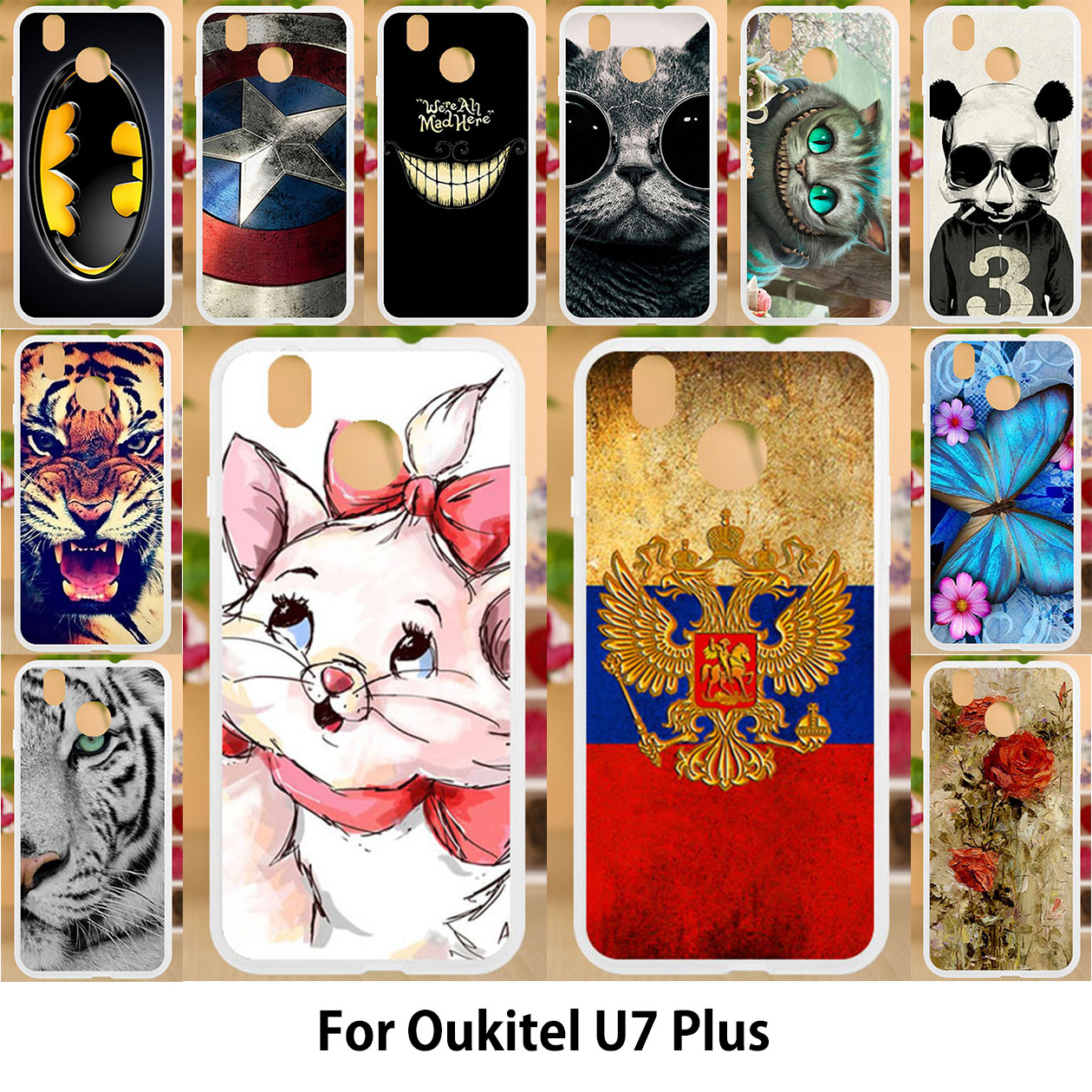 Cellphones & Telecommunications Good Quality Colorful Cases For Oukitel U20 Plus Printing Drawing Mobile Phone Girls Full Back Cover Silicone Soft Tpu Case