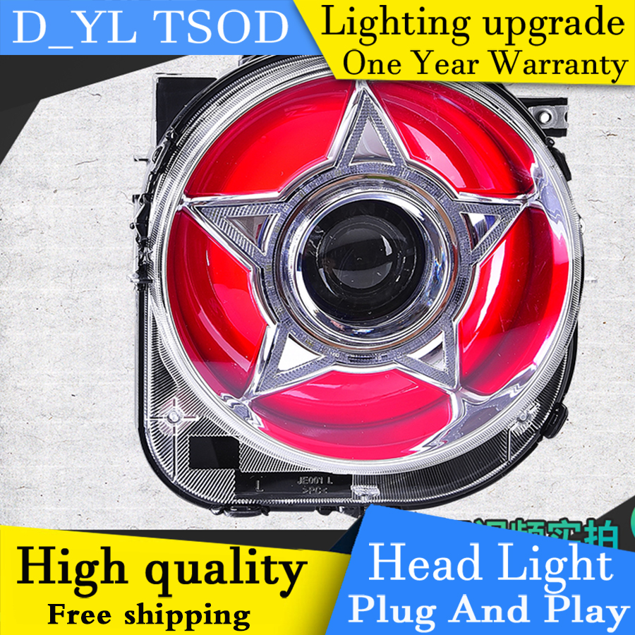 Car Styling Headlights For Jeep Renegade 2016 Led