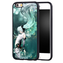 Soft Case with Anime Cartoon for iPhone