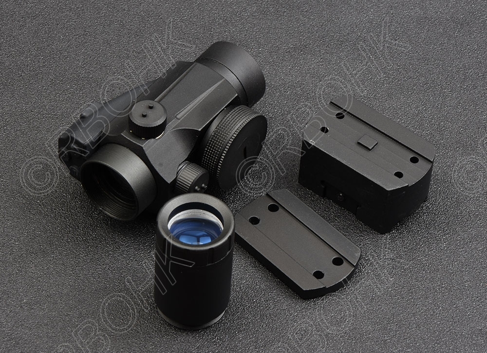 Tactical 1x 2x Red Dot Scope Magnifier Combination Scope Red Green Dot For Picatinny Rail Mount Hunting Shooting R1352
