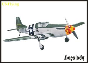 Image 5 - EPO RC plane World War II aircraft airplane  MODEL HOBBY TOY wingspan 1016mm p 51 P51 MUSTANG Fighter (have kit set or PNP set )
