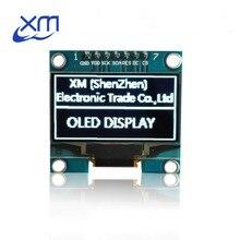 """10 шт. 1,"""" O Светодиодный модуль белого цвета SPI 128X64 1,3 дюймов O светодиодный ЖК-дисплей светодиодный Дисплей модуль для 1,3"""" SPI общаться D13"""