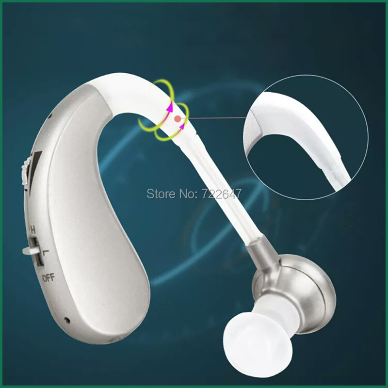 Image 4 - USB Rechargeable BTE Hearing Aid Ear Aids for the Elderly Mini Digital Wireless Cheap Ear Hearing Device for Hearing Impairedear aidssound amplifying devicesbte hearing aid -
