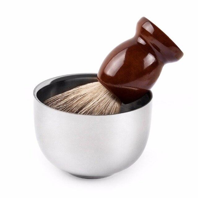 Чаша для бритья QSHAVE QM3205 из нержавеющей стали 1