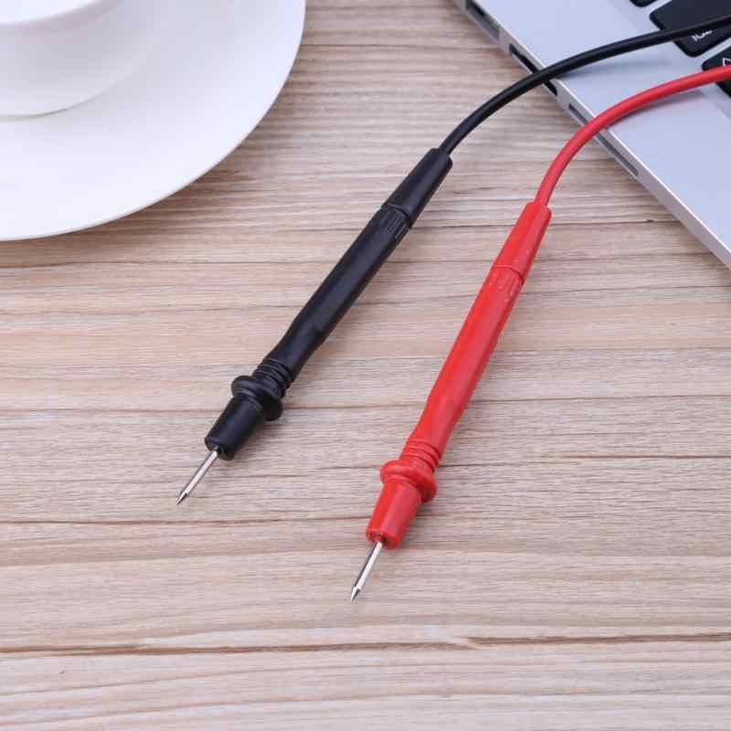 70cm 1 Pair Universal Probe Test Leads Pin 10A for Digital Multimeter Needle Tip Meter Multi Meters Tester Lead Probe Wire Pen