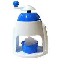 Ice Crusher Shaver Manual Grinding Plastic Snow Cone Maker Machine House Home Party DIY Ice Cream