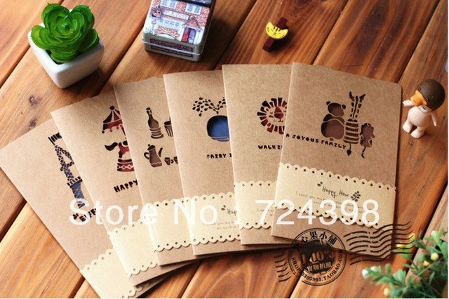 Handmade Gift Paper Art Birthday Greeting Card Gift Cards For