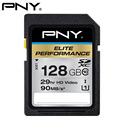 PNY 2017 Elite Performance 128GB SDXC Class 10 UHS-I U1 Up To 90 MB/S SD Flash Memory Card For DSLR Camera HD/3D Video Card