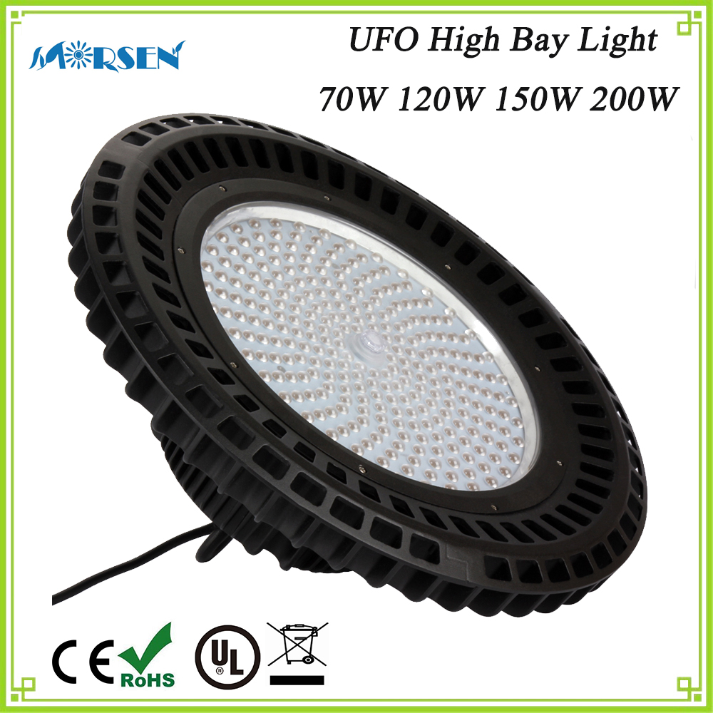 4pcs UFO High Bay Led Lights, 70W 120W 150W 200W Outdoor Industrial Led Lighting Commercial Warehouse Lights Spotlights Lamp#25 brightinwd ufo high bay light 100w 150w 200w smd2835 high power led floodlight for factory warehouse machine lamp