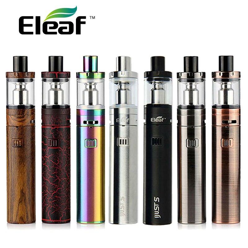 Eleaf sólo S Kit w/3000 mAh sólo S Vape batería y 4 ml atomizador superior de 0.18ohm ecl bobina de Vape Pen Kit del sólo 3/ego aio