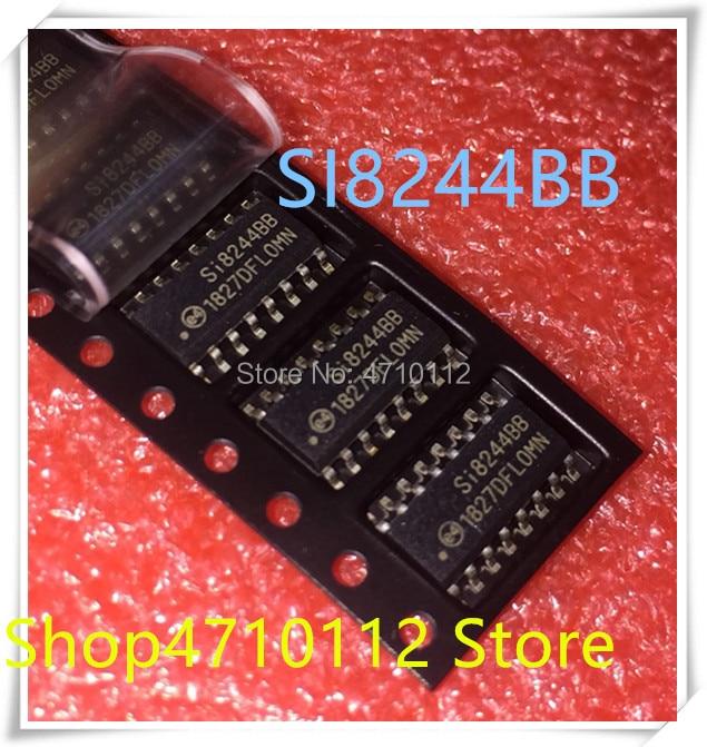 NEW 5PCS LOT SI8244BB D IS1R SI8244BB SI8244 SOP 16 IC