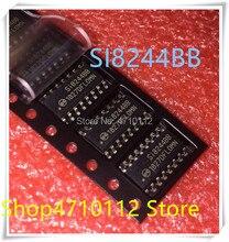 NEW 5PCS/LOT SI8244BB-D-IS1R SI8244BB SI8244 SOP-16 IC