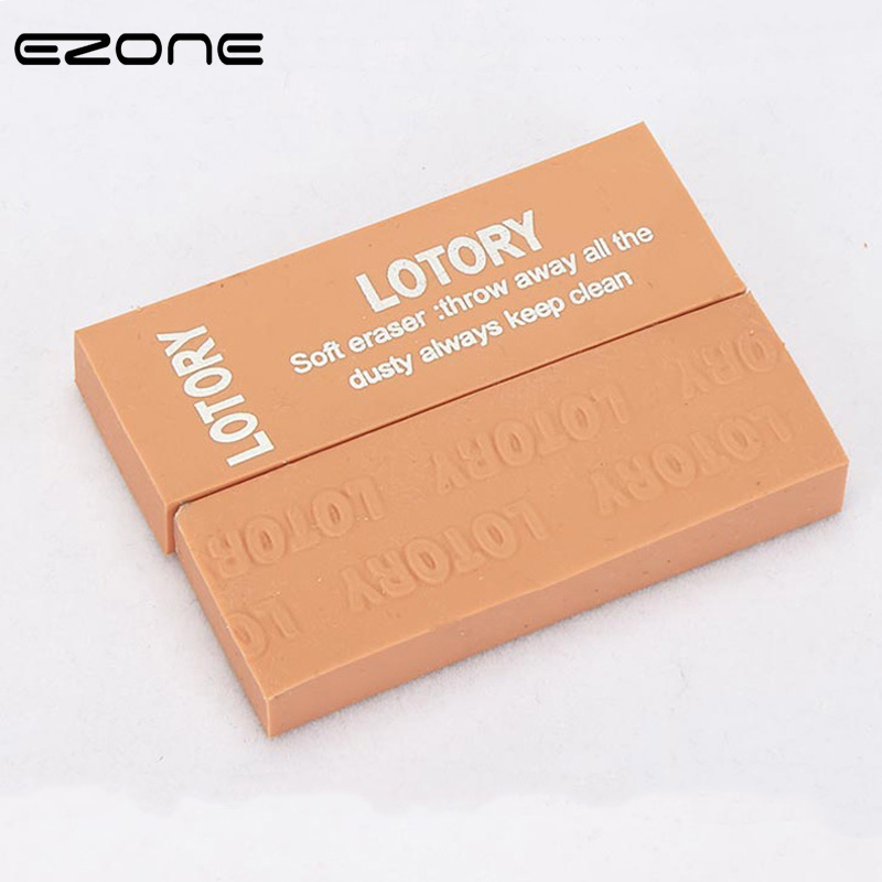 EZONE Sketch Special Eraser Easy To Wipe Portable Erasers For Office School Kid Prize Writing Drawing Student Gift Office Supply