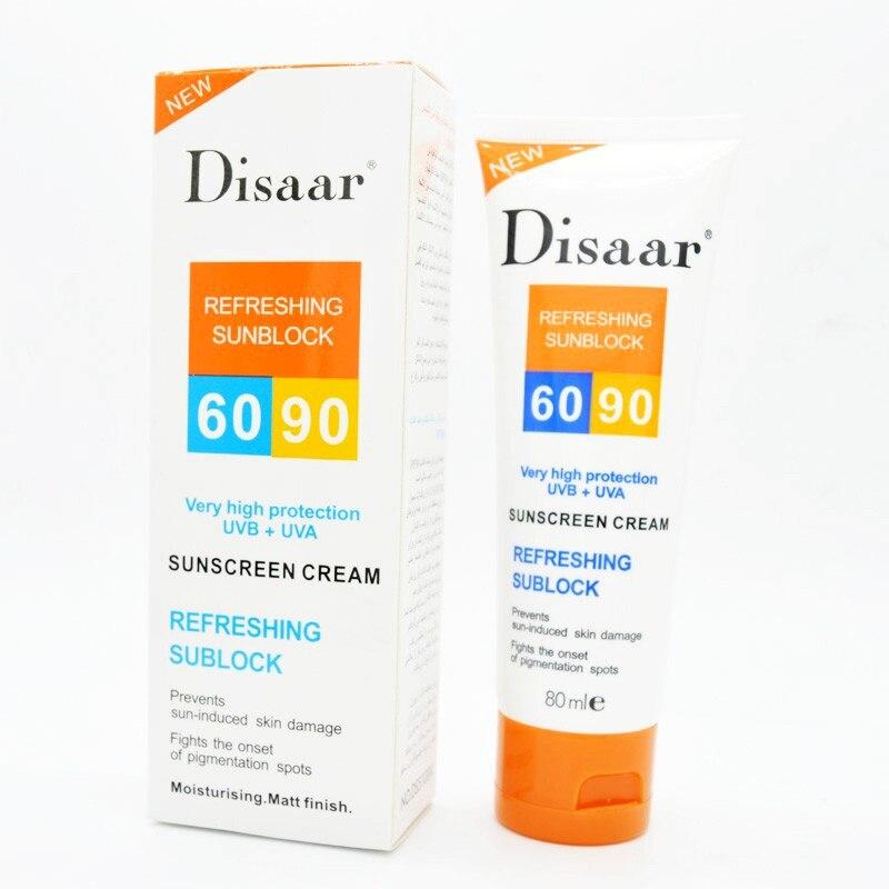 Moisturizing Skin Protect Sunblock 80g Face Care Prevents Skin Damage, Remove Pigmention Spots Sunscreen Cream