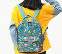 Печать Harajuku женщины рюкзак корейский стиль Универсальные холст рюкзак модный простой корейский ulzzang школьный для женщин