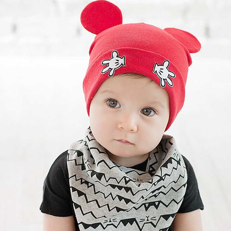 Online Shop Cotton Baby Caps Girls Boys Cartoon Mickey Design Baby Winter  Cap Baby Girl Hats Crochet With Hands Baby Beanies Chirstmas Gift  46c47fa5abd