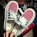 2017 Nova Moda Mulheres Plataforma Oxfords Brogue Sapatos de Cores Mulher Doces Estilo Britânico Creepers Cut-Outs Plana Zapatos Casuais G557
