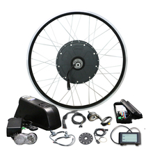 48V  Electric Bicycle 1000W Conversion Kit for 26″ Motor Wheel with 16AH LG Bottle Battery LCD900 volo electrique parts