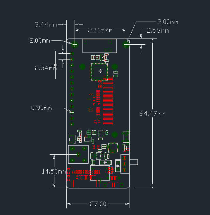 Details about TTGO ESP32 - Paxcounter LoRa32 V2 1 433/868/915Mhz LoRa OLED  0 96 Inch SD Card