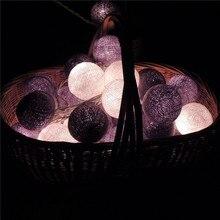 Tay hattı ışık topları LED ışık zinciri Noel ışıkları festivali bar kaldırım süsleme flash pencere süsleme