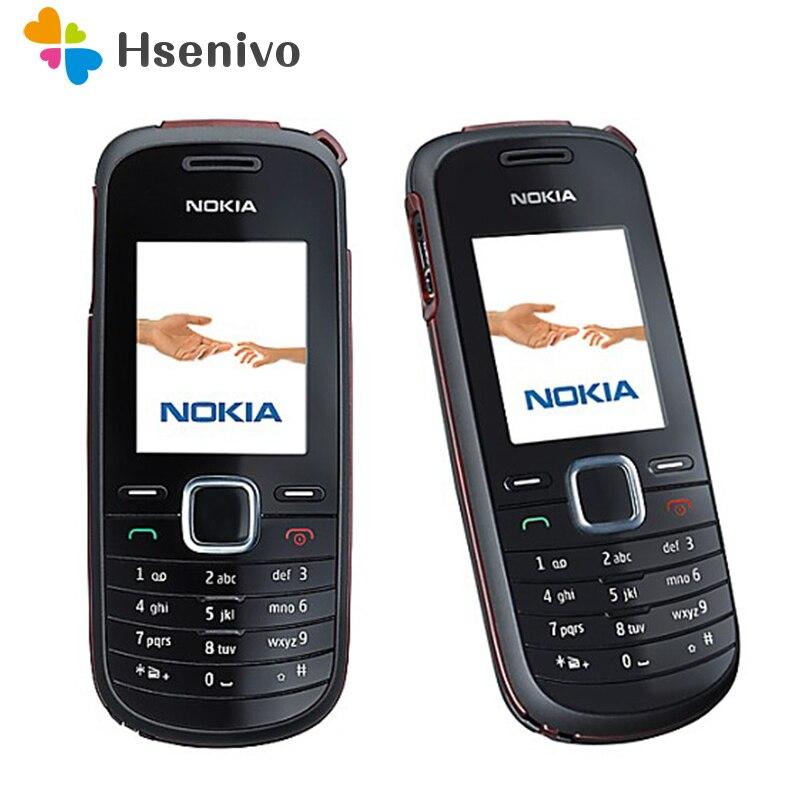 1661 Original Refurbished NOKIA 1661 Mobile Phone GSM Unlocked phone