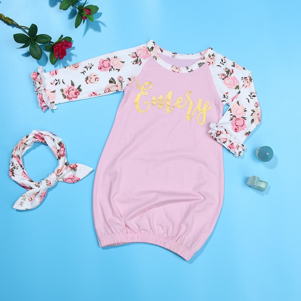 Baby Sleeping Bag Girls Pink Sleepwear Little Sister Floral Sleep ...