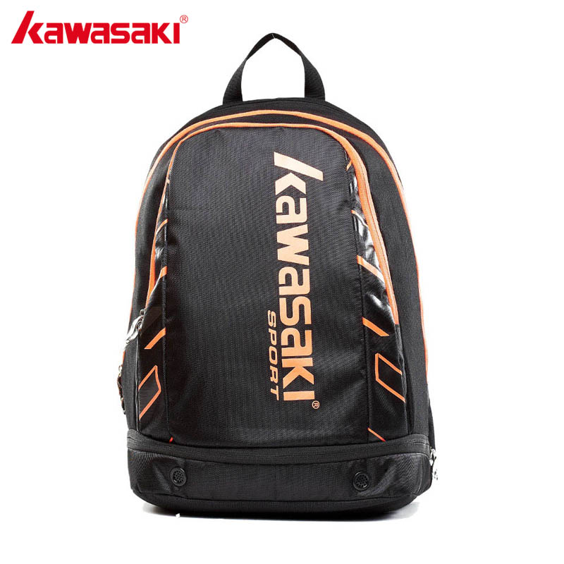 Genuine Kawasaki Badminton Racket Bag Two-pack Multifunction Backpack for Outdoor Sports Travel Bags KBB-8233