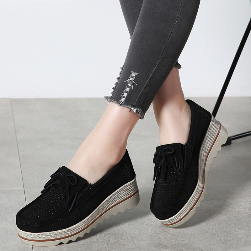 HX 3088 Platform Flats Shoes Women-16