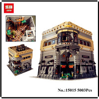 IN STOCK LEPIN 15015 5003Pcs City Street The Dinosaur Museum Model Building Kits Blocks Bricks Compatible Children Toys Gift