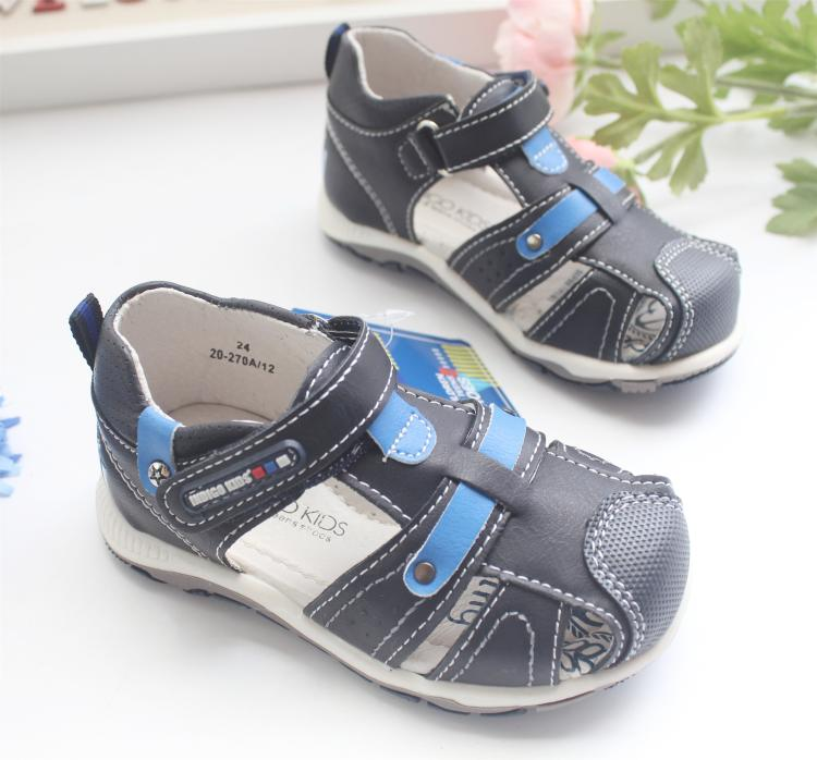 new Fashion 1pair Summer leather Orthopedic Sandals antiskid Children Shoes+inner 13-16cm, Kids Shoes