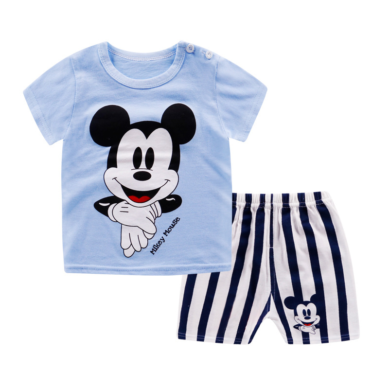 New Arrival Children's Wear Micky Mouse Clothing Sets, Princess Baby Girl Clothes Suits