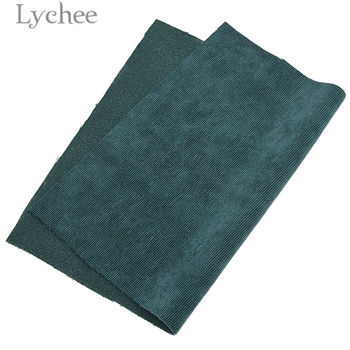 Lychee A4 Embossed Stripes Velvet Fabric Soft Sewing Fabric for Hair Accessories DIY Sewing Crafts Materials 2