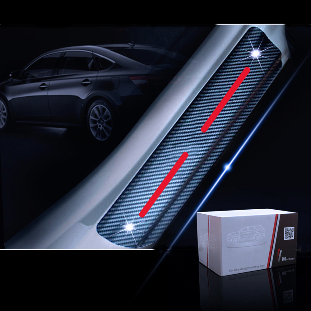 For Lexus ES350 IS250 RX350 Vinyl Door Sill Protector White 4pcs