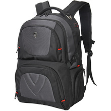 VICTORIATOURIST 17 inch ballistic nylon laptop backpack men/large-capacity back pack /antitheft backpacks V9002 black