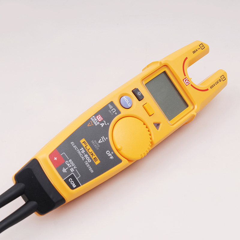 Fluke T6 600 Clamp Continuity Current Electrical Tester