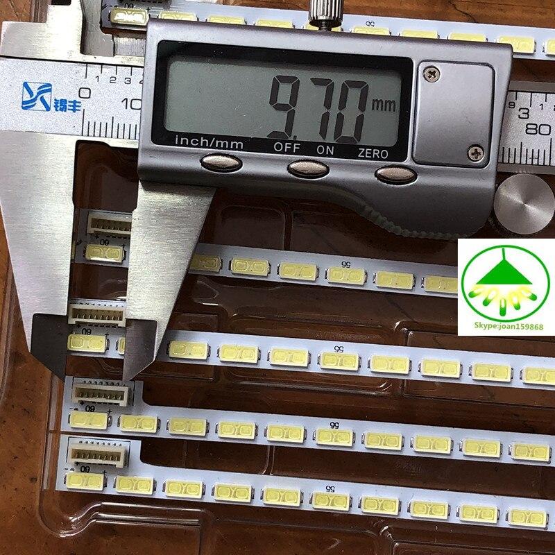 New 60LED 525mm LED strip for LG 42LS5600 42LS560T 42LS570S 42LS575S T420HVN01.0 Innotek 42Inch 7030PKG 60ea 74.42T23.001-2-DS1