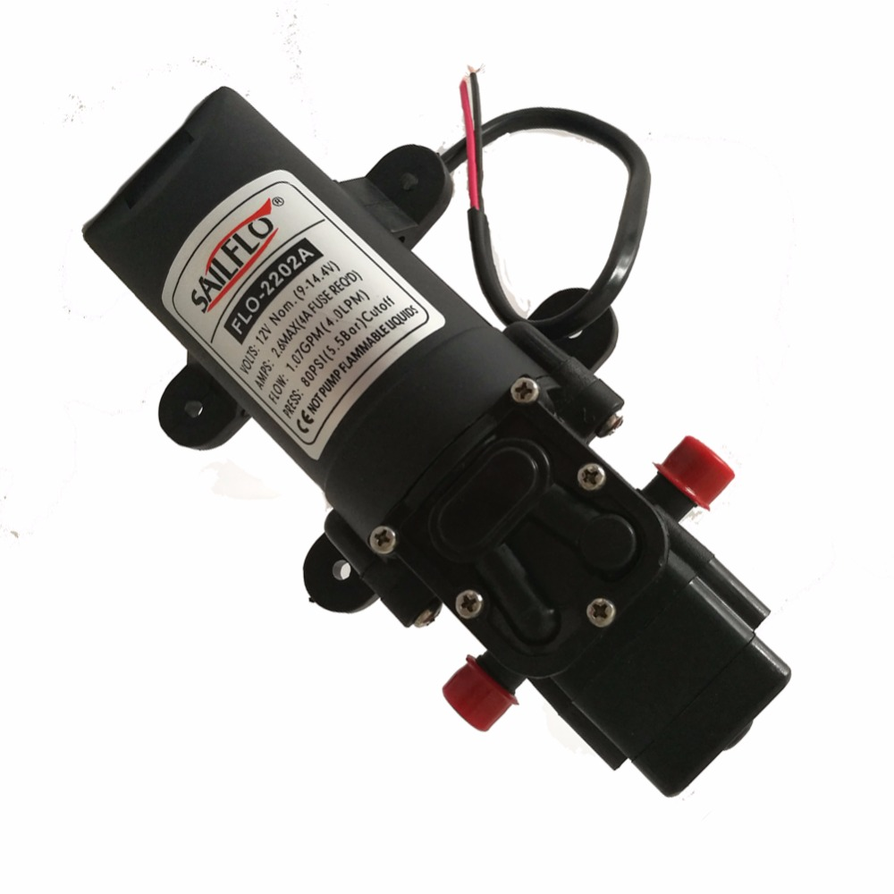 HIGH 70 PSI 4 L//MIN Caravan//Boat//RV//4x4 24V WATER PRESSURE DIAPHRAGM PUMP