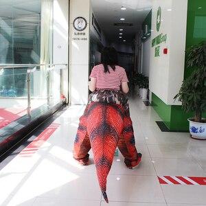 Image 5 - 大人の恐竜T REXインフレータブル衣装クリスマスコスプレに恐竜動物ジャンプスーツハロウィーンの衣装男性