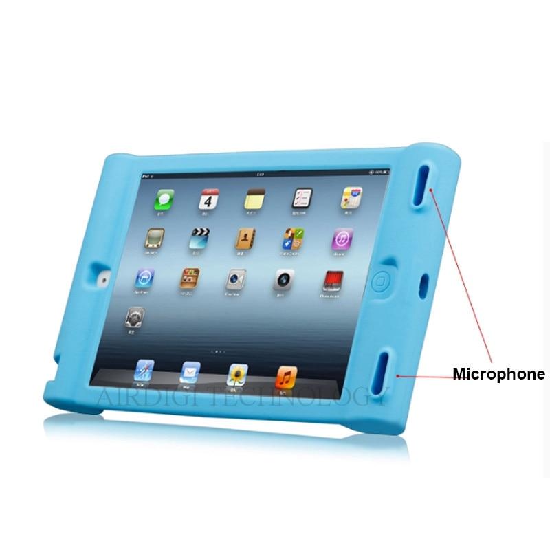 Funda protectora de silicona a prueba de golpes para Apple iPad 2 3 4 - Accesorios para tablets - foto 4