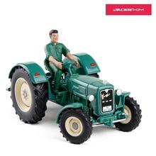 Высокое качество 1:32 Масштаб сплав человек 4R3 трактор с куклами инженерные транспортные средства фермер автомобиль для детей игрушка оригинальная коробка